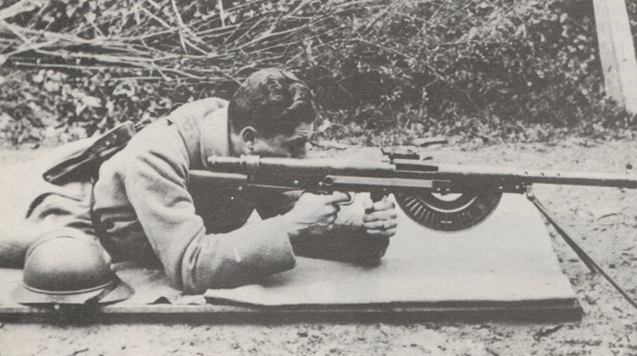 Fusil mitrailleuse Chauchat