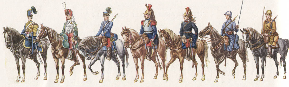 Evolution de la cavalerie